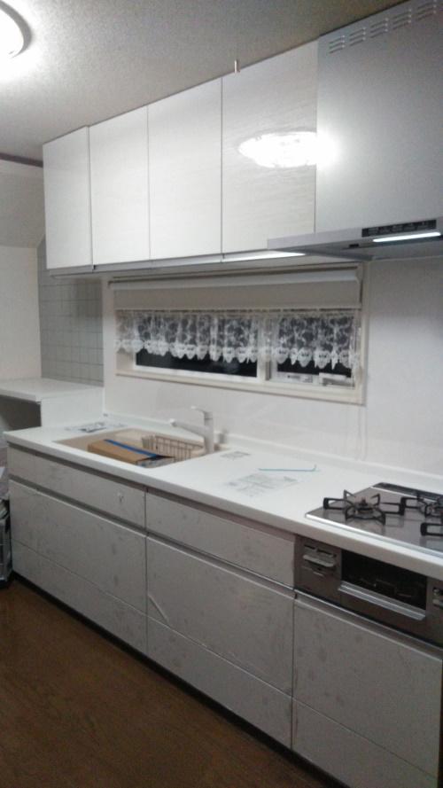 2施工後キッチン