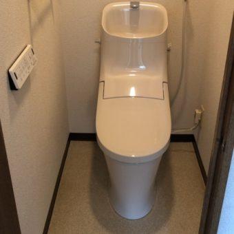 LIXIL『アメージュZA』で空間スッキリなエコトイレ!札幌市マンション