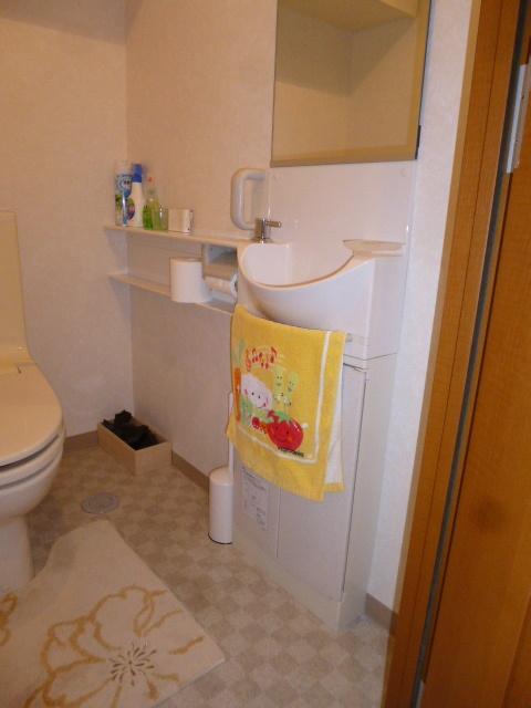 手洗い器リフォーム前