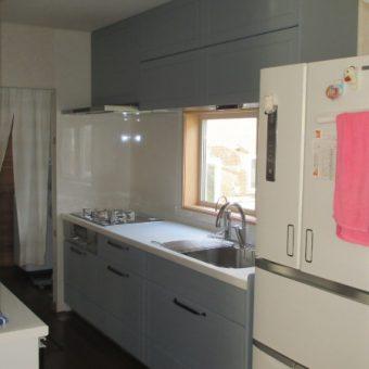 クリナップ『ステディア』で作り出す北欧カントリー調のキッチン空間!札幌市戸建