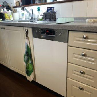 ボッシュ45㎝ゼオライトドライ食器洗い機への交換リフォーム!札幌市戸建