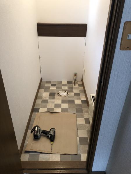 2施工中トイレ