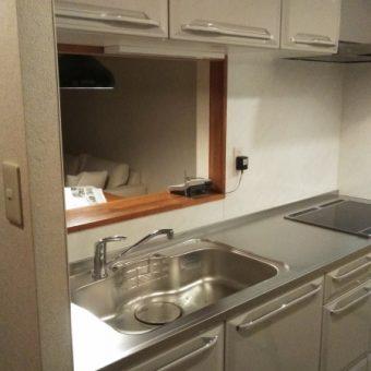 ホーロー素材でキッチン空間演出だからいつもキレイ!札幌市マンション