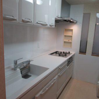 ホーローシステムキッチン『リテラ』でずーっとキレイが続くキッチンへ!札幌市マンション