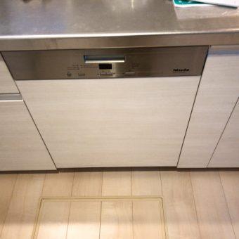 最高クオリティMiele(ミーレ)食器洗い機新規取付施工事例!札幌市戸建