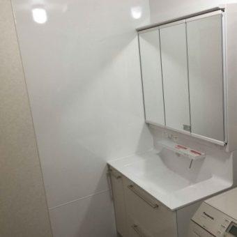 TOTO洗面化粧台『オクターブ(Octave)』で快適ユーティリティ!札幌市戸建