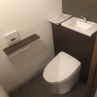 リトルベンがかくれんぼ出来ないTOTOきれいトイレ『レストパル』へリフォーム!札幌市マンション