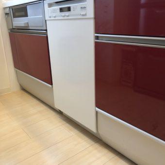ミーレ食器洗い機幅45㎝標準ドア装備タイプへ交換リフォーム!札幌市マンション