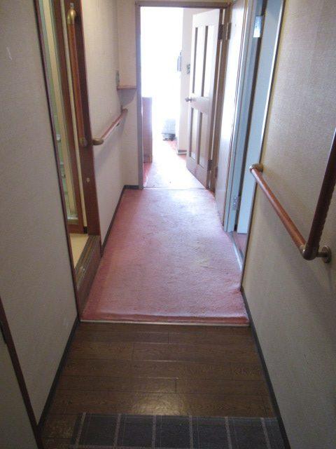 1施工前居室廊下3