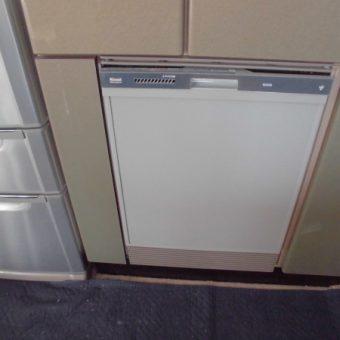 食器乾燥機スペースに、リンナイ深型食器洗い乾燥機新規設置の施工事例!札幌市戸建