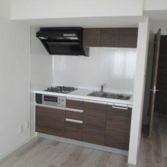 クリナップ『ラクエラ』で作り出すシンプルでコンパクトなキッチン!苫小牧市マンション
