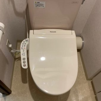 パナソニック『ビューティ・トワレ』便座交換で快適なトイレに!札幌市マンション