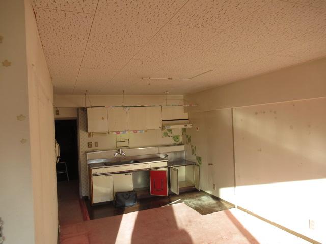 1施工前キッチン2居室