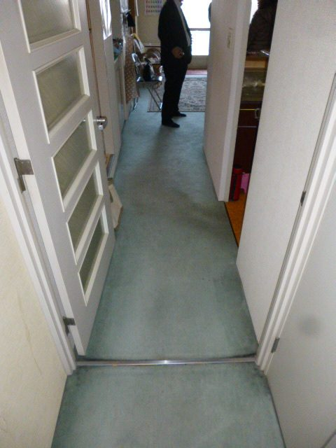 1施工前居室2廊下