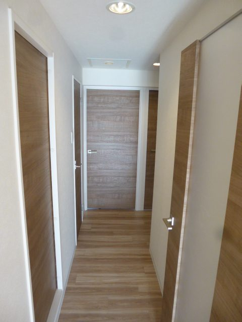 3施工後居室3廊下