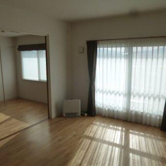 マンション内装フルリフォーム、朝日ウッドテックのフローリング採用!札幌市マンション