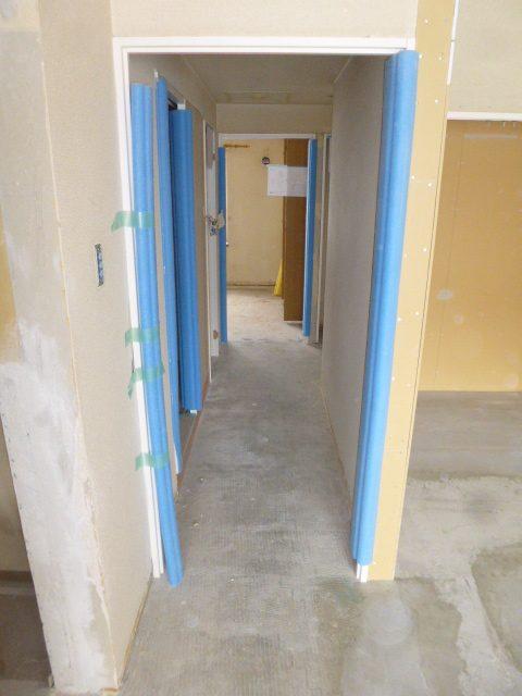 2居室解体2廊下
