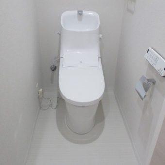 LIXIL『アメージュZA』シャワートイレへリフォーム施工事例!札幌市マンション