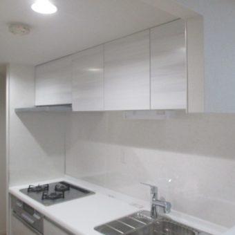 キッチン袖壁開口、クリナップSK『ラクエラ』施工事例!札幌市マンション