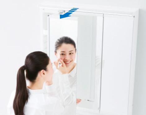 スウイング三面鏡2