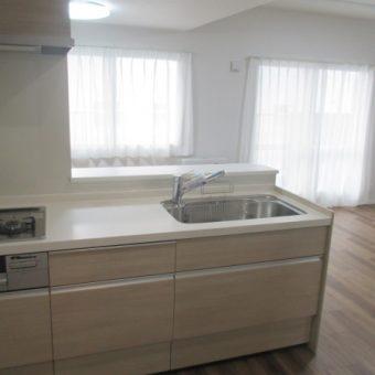 LIXIL(リクシル)システムキッチン『エーエス(AS)』でスタイリッシュ空間!札幌市マンション