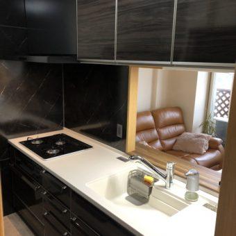 気品あふれる上質なキッチン空間演出へ!札幌市マンション