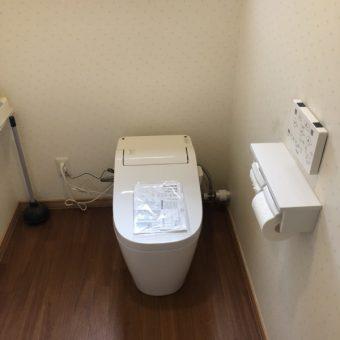 シンプルさが魅力のパナソニック全自動おそうじトイレ『アラウーノ』へリフォーム!札幌市戸建