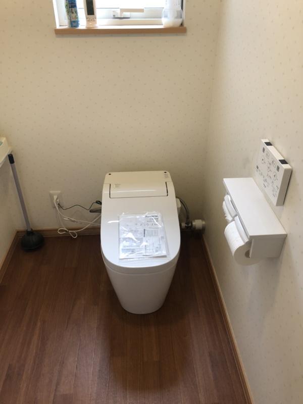3施工後1Fトイレ