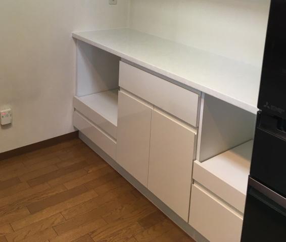 2施工後食器棚加工