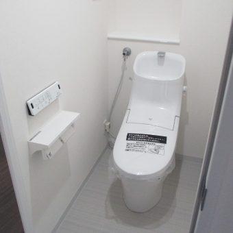 LIXIL(INAX)『アメージュZAシャワートイレ』へリフォーム施工事例!札幌市マンション
