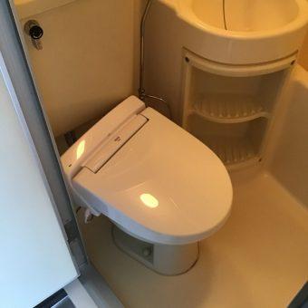LIXIL(INAX)シャワートイレ『USシリーズ』設置リフォーム!札幌市賃貸マンション