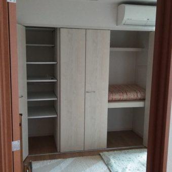 防音室の二重壁を撤去しクローゼット収納新規設置リフォーム!札幌市戸建