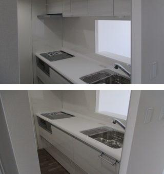 クリナップシステムキッチン『ラクエラ』へリフォーム施工事例!札幌市マンション
