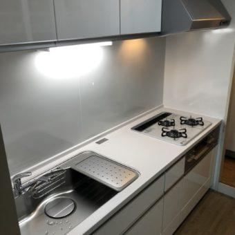 タカラスタンダード木製システムキッチン『グレーシア』へリフォーム!札幌市マンション