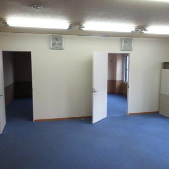 オフィスを仕切り、シャワールーム・洗濯洗面室・仮眠室新設!札幌市某事務所
