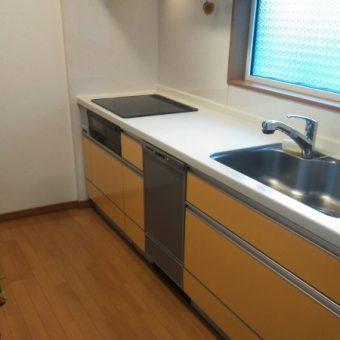 ビルトイン食器洗い乾燥機『NP-45MD8S』新規設置施工事例!札幌市戸建