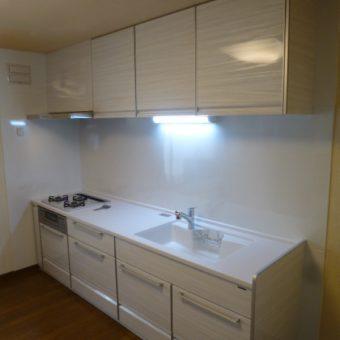 機能的で豊富な収納が魅力のシステムキッチン『トレーシア』へリフォーム!札幌市戸建