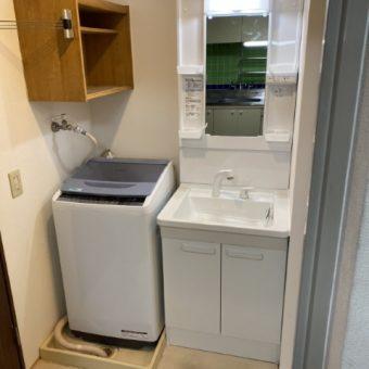 コスパに優れたTOTO洗面化粧台『Vシリーズ』へリフォーム!札幌市マンション