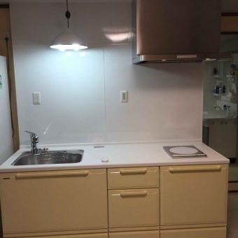 特殊構造のマンションでの快適システムキッチンリフォーム施工事例!札幌市マンション