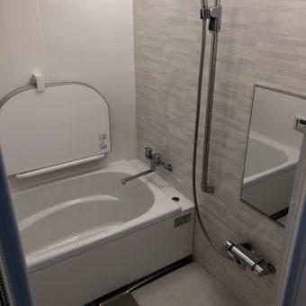 在来5角変形バスルームからシステムバス『伸びの美浴室』へのリフォーム事例!札幌市戸建