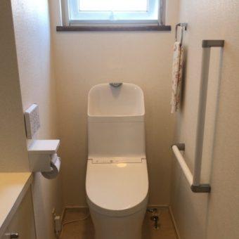 TOTOウォッシュレット一体型『ZR1』へ、1階も2階のトイレも快適に!札幌市戸建