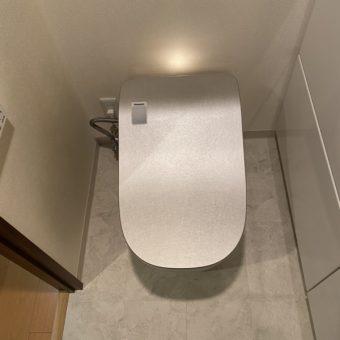 パナソニック『アラウーノ/銀嶺』で上品さと清潔感を与えるトイレへ!札幌市マンション