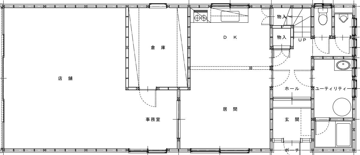 施工前平面図