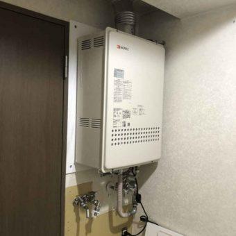 ノーリツ製ガスふろ給湯器『ユコアGTシンプルオート/GT1634シリーズ』へ交換!札幌市マンション