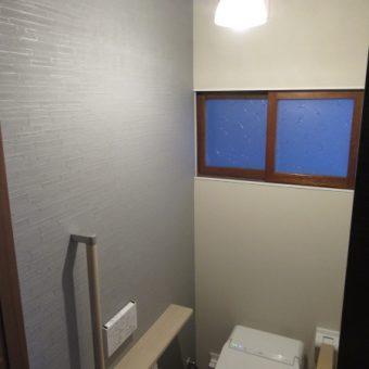 男女別トイレをひとつの洋式トイレ空間へとリフォーム!札幌市戸建