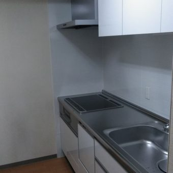 ビルトイン食器洗い乾燥機を組み込んだキッチンで家事負担軽減!札幌市マンション