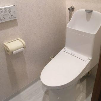 TOTO『ZR1』へトイレリフォーム+オーダー吊戸棚設置!札幌市マンション