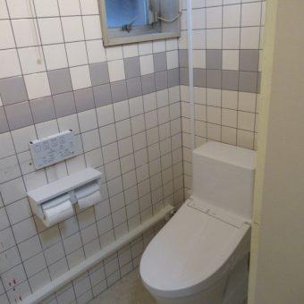 和式トイレから洋室トイレへと変えて使いやすくなりました!札幌市某事務所