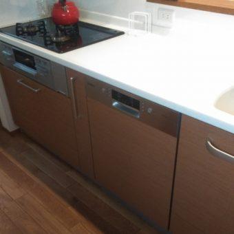 ボッシュ(BOSCH)食洗機新規設置リフォーム工事施工事例!札幌市戸建