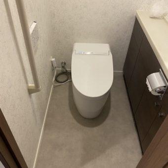 TOTOトイレ『ネオレスト/DH』でクリーンなトイレへリフォーム!札幌市マンション
